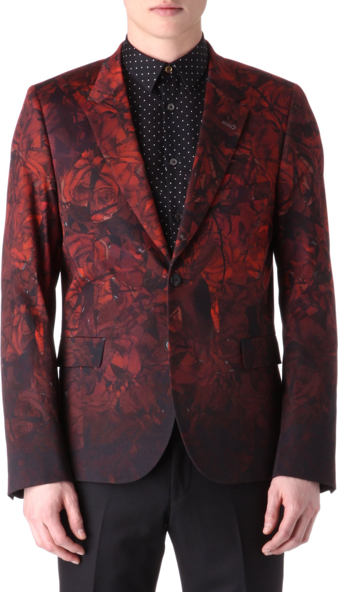 Paul smith Rose Blazer in Red for Men | Lyst
