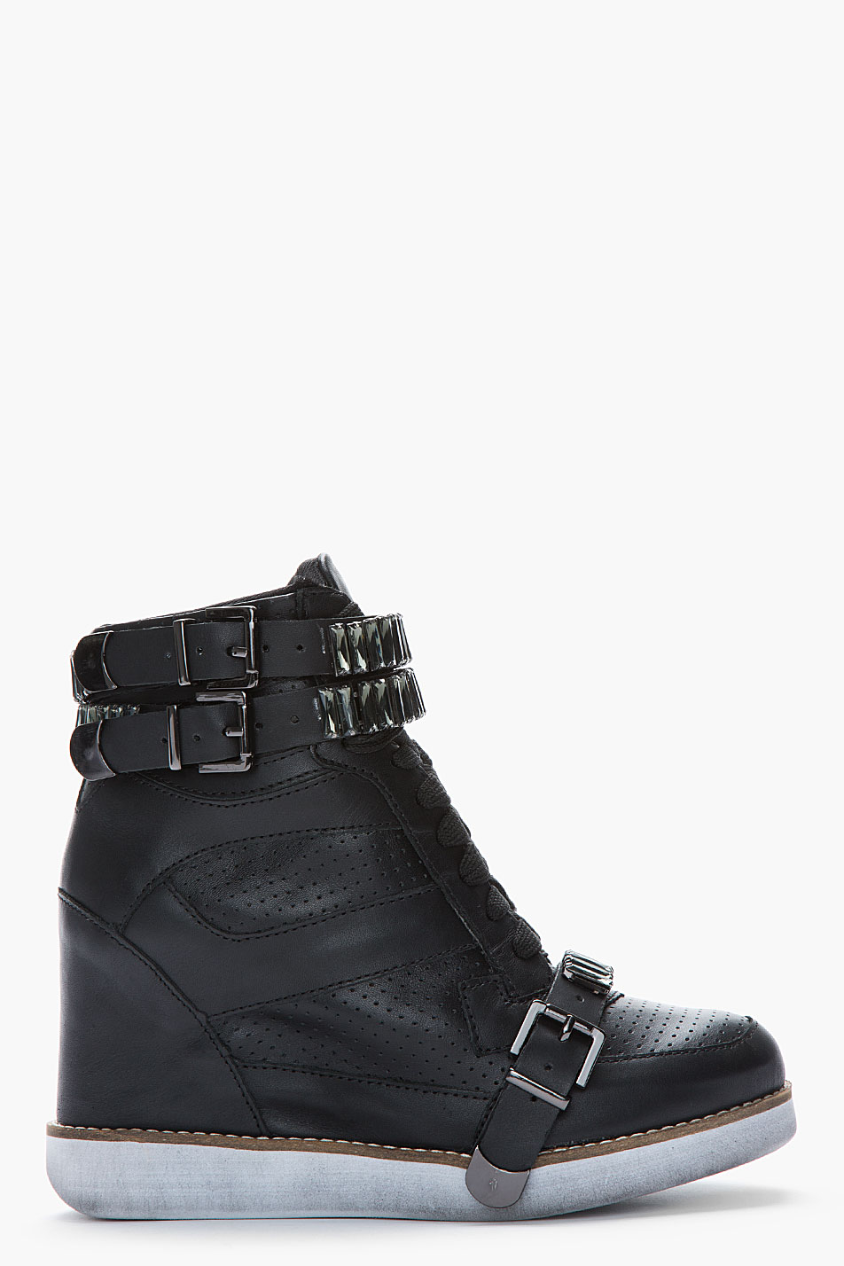 Jeffrey Campbel Shoes Black With Rose