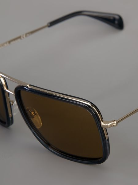 Celine Gold Frame Sunglasses : Alfa img - Showing > Rectangle Gold Frame Eyeglasses