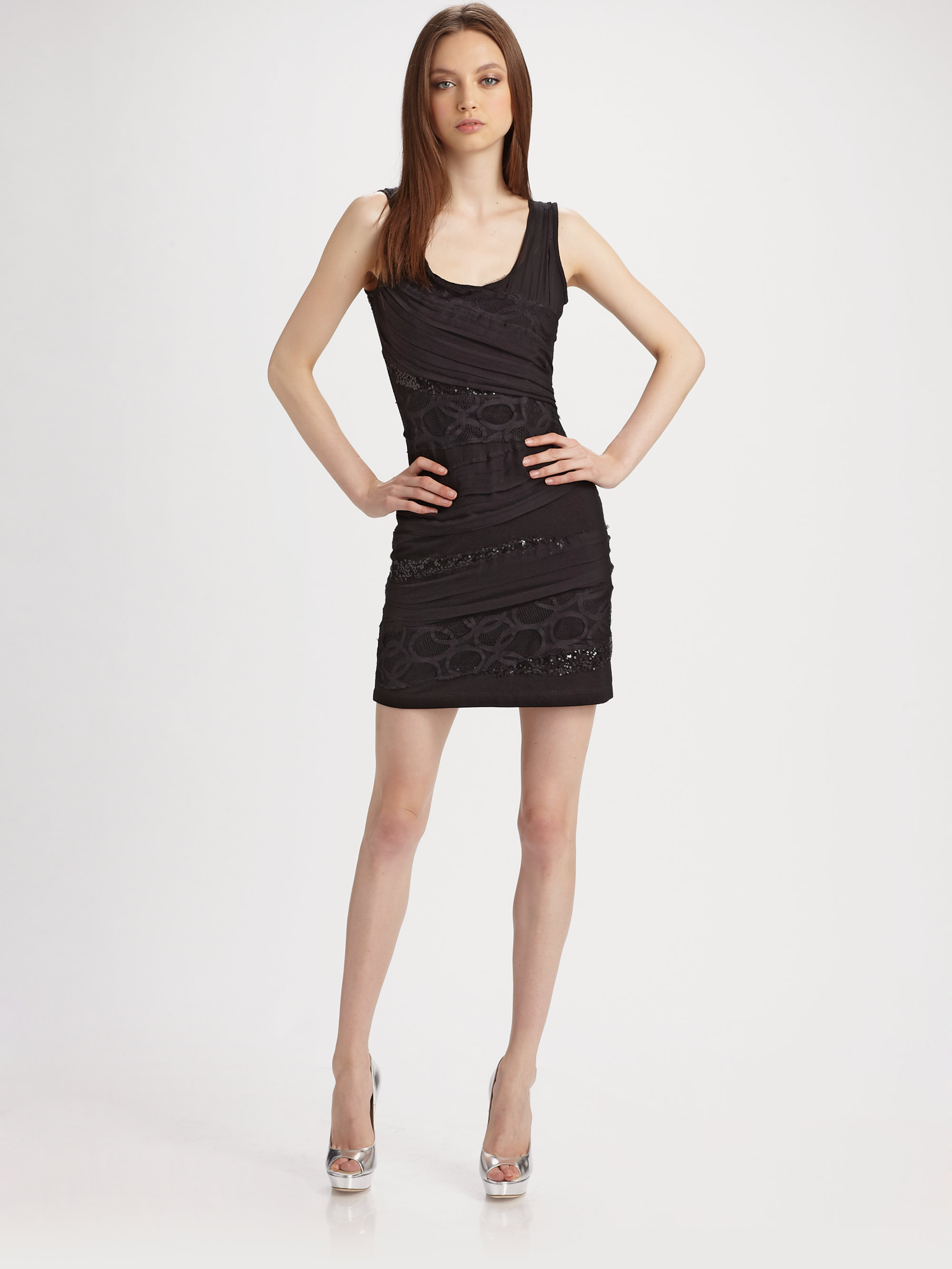 Lyst - Royal Underground Bondage Dress in Black