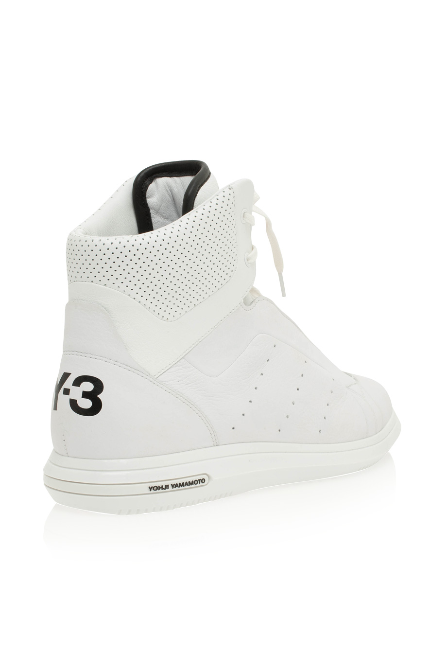 Lyst - Y-3 Rade High Shoes in White for Men 8eb2d159f096
