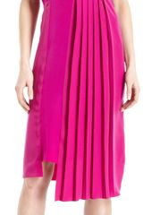 Maison Martin Margiela Pleated Front Sleeveless Dress