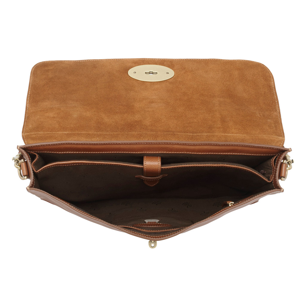 90dcf7b291d8 ... clearance lyst mulberry bayswater briefcase in brown for men 4b586 8b41b