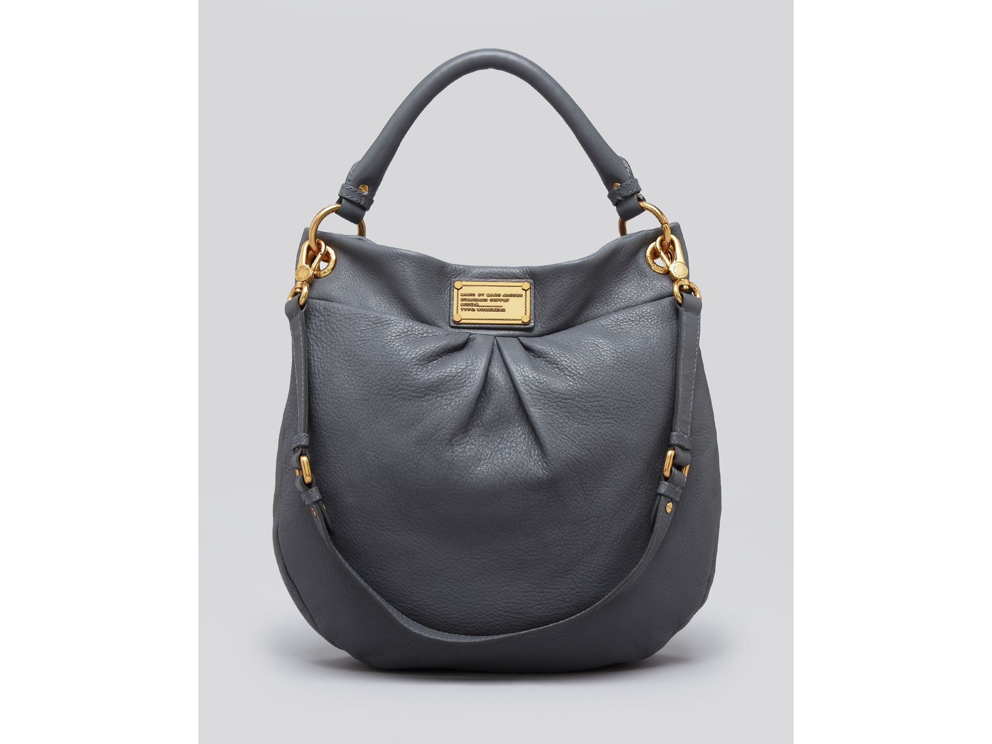 9e6e6d1702 Marc By Marc Jacobs. Women s Gray Hobo Classic Q Hillier. See more Gray Shoulder  bags.