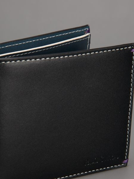 Paul Smith Mini Cooper Wallet In Black For Men Lyst