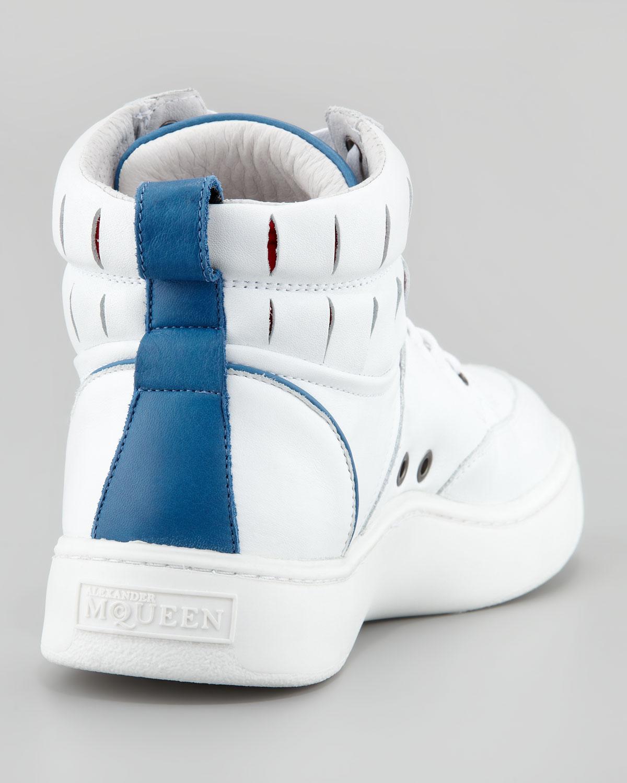 Lyst - Alexander McQueen X Puma Summer Joust Hitop Sneaker in ... b8fac4ce9