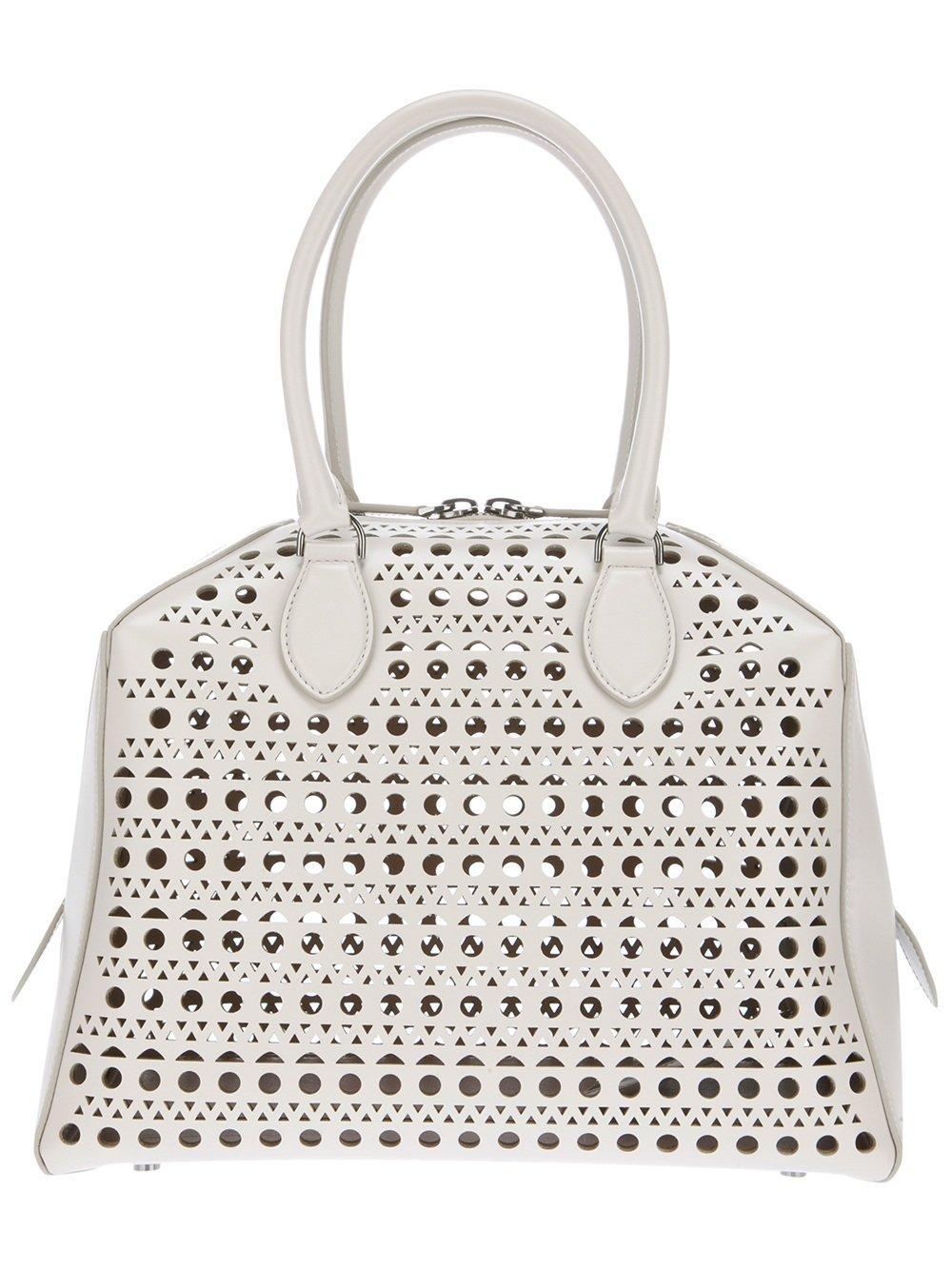 Elle Macpherson with Azzedine Alaia bag | HANDBAGS IN THE ...