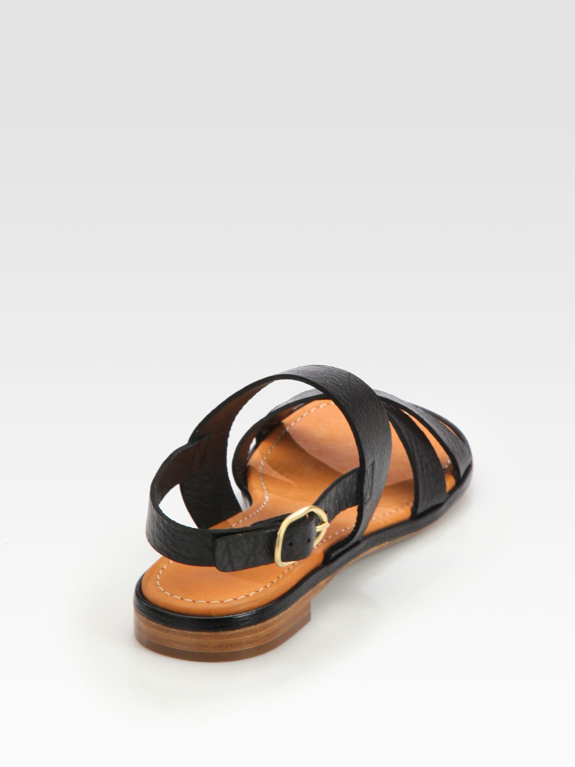 Chie Sandales Avant Noeud De Mihara - Noir VM5jRx53Hy