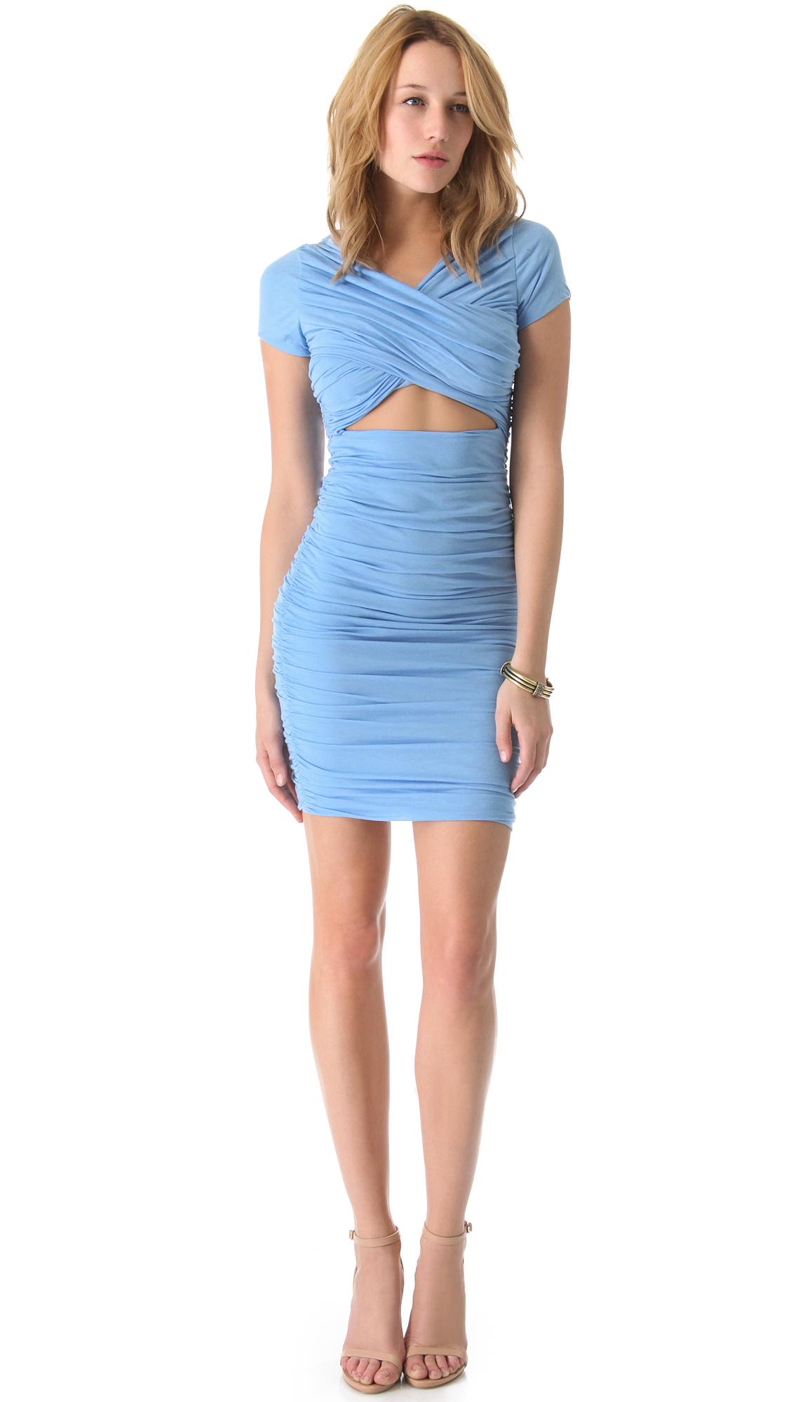 lyst elizabeth and james cassandra dress in blue. Black Bedroom Furniture Sets. Home Design Ideas