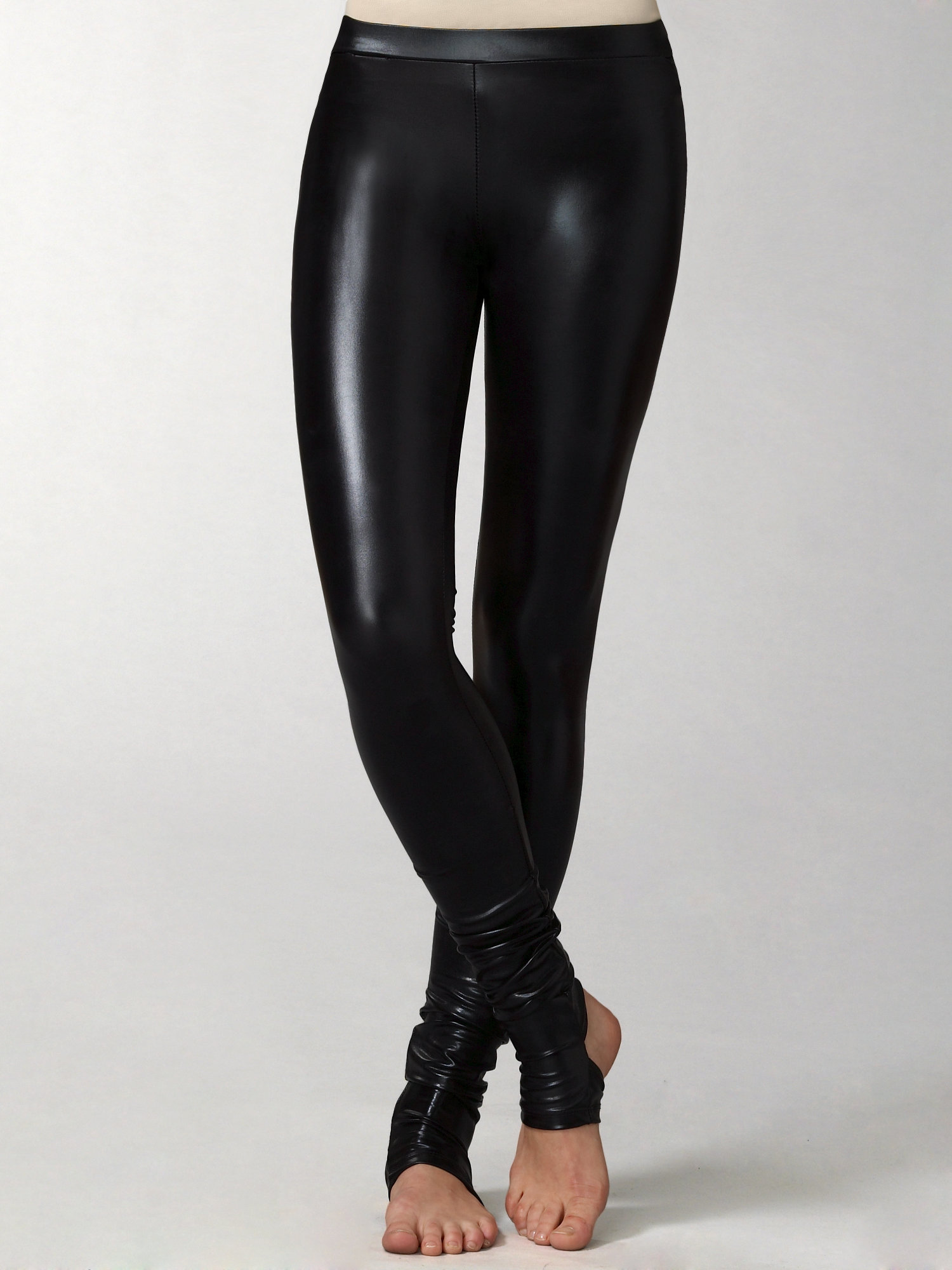 Kova & t Oxy Latex Leggings in Black