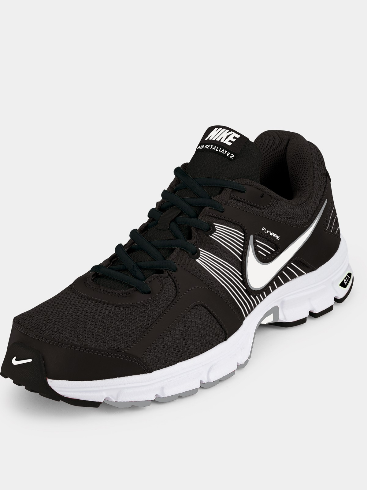 Nike Free Run 2 Black And White Men