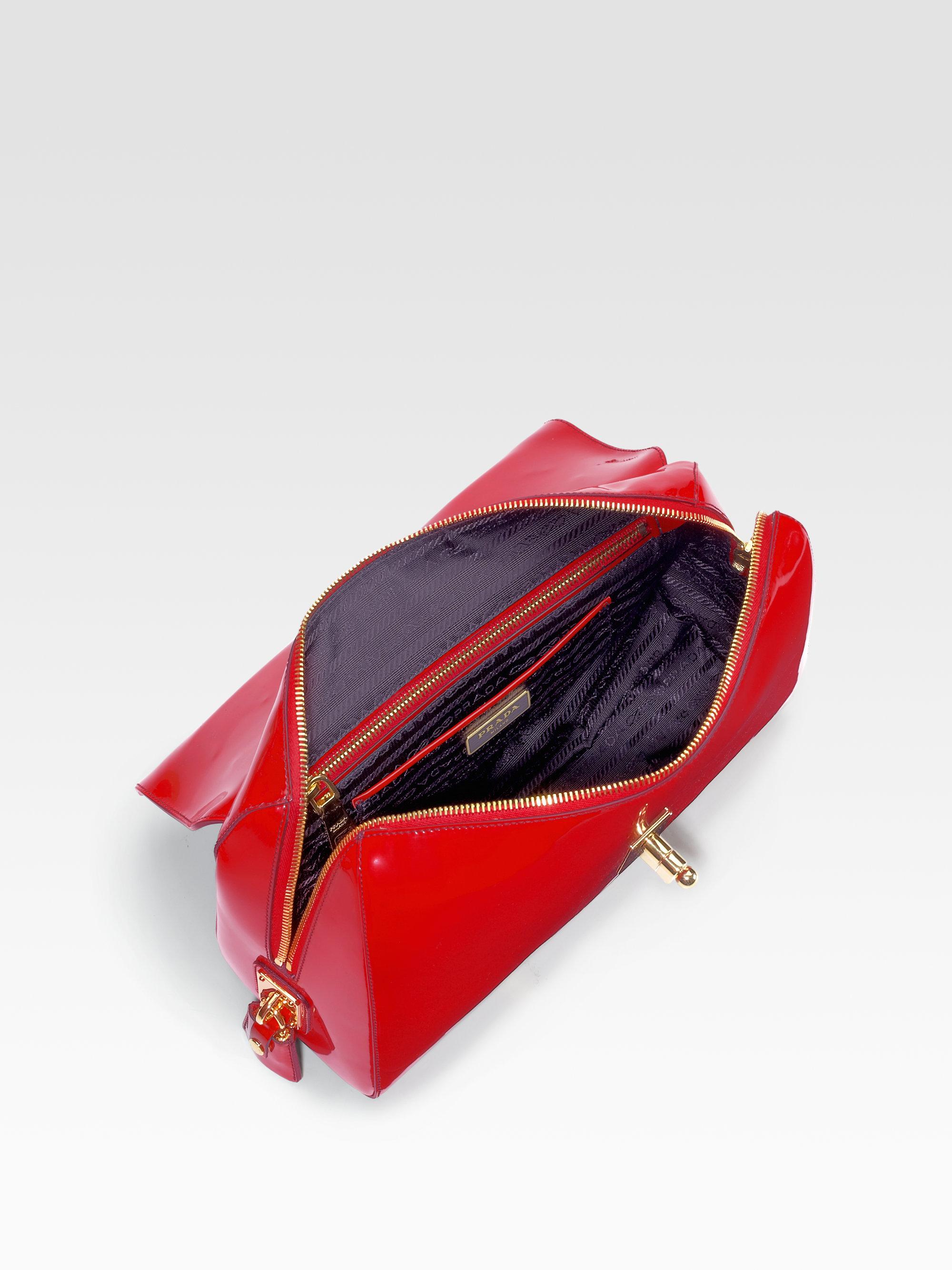 prada spazzolato shoulder bag