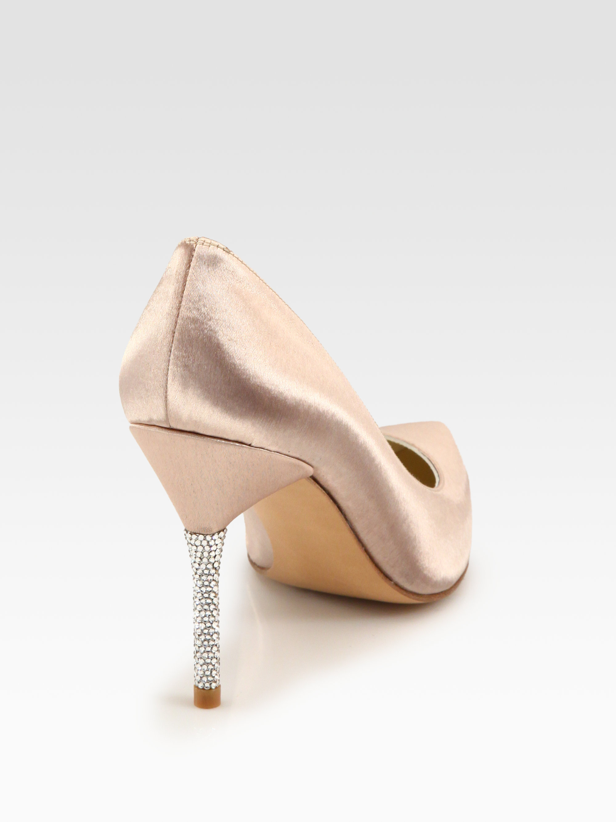 Stuart Weitzman Embellished Cutout Pumps fast delivery websites cheap price eastbay for sale SZaW0Hq1