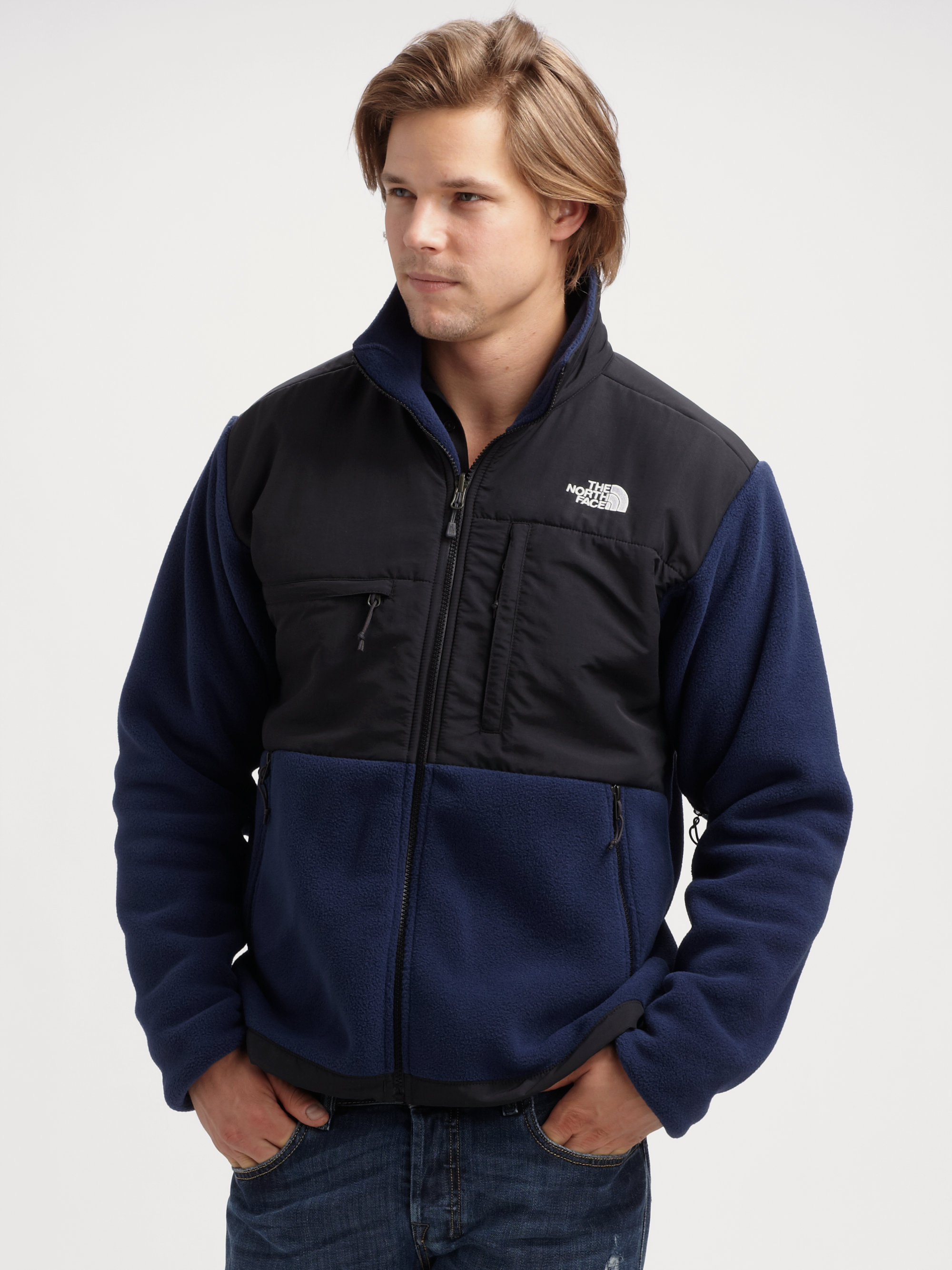 The North Face Denali Fleece Jacket In Blue For Men Lyst