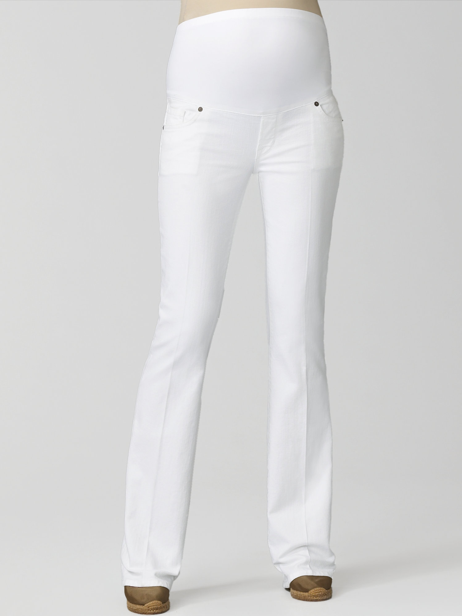 Citizens of humanity Kelly Bootcut Jeans in White | Lyst