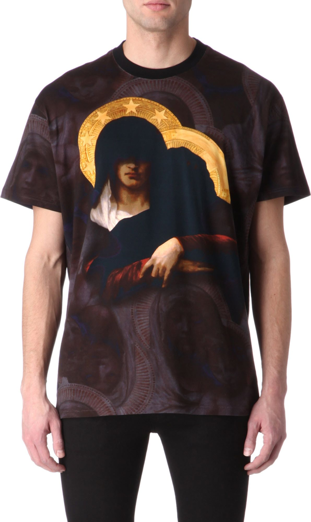 Givenchy madonna tshirt in black for men lyst for Givenchy t shirts for sale