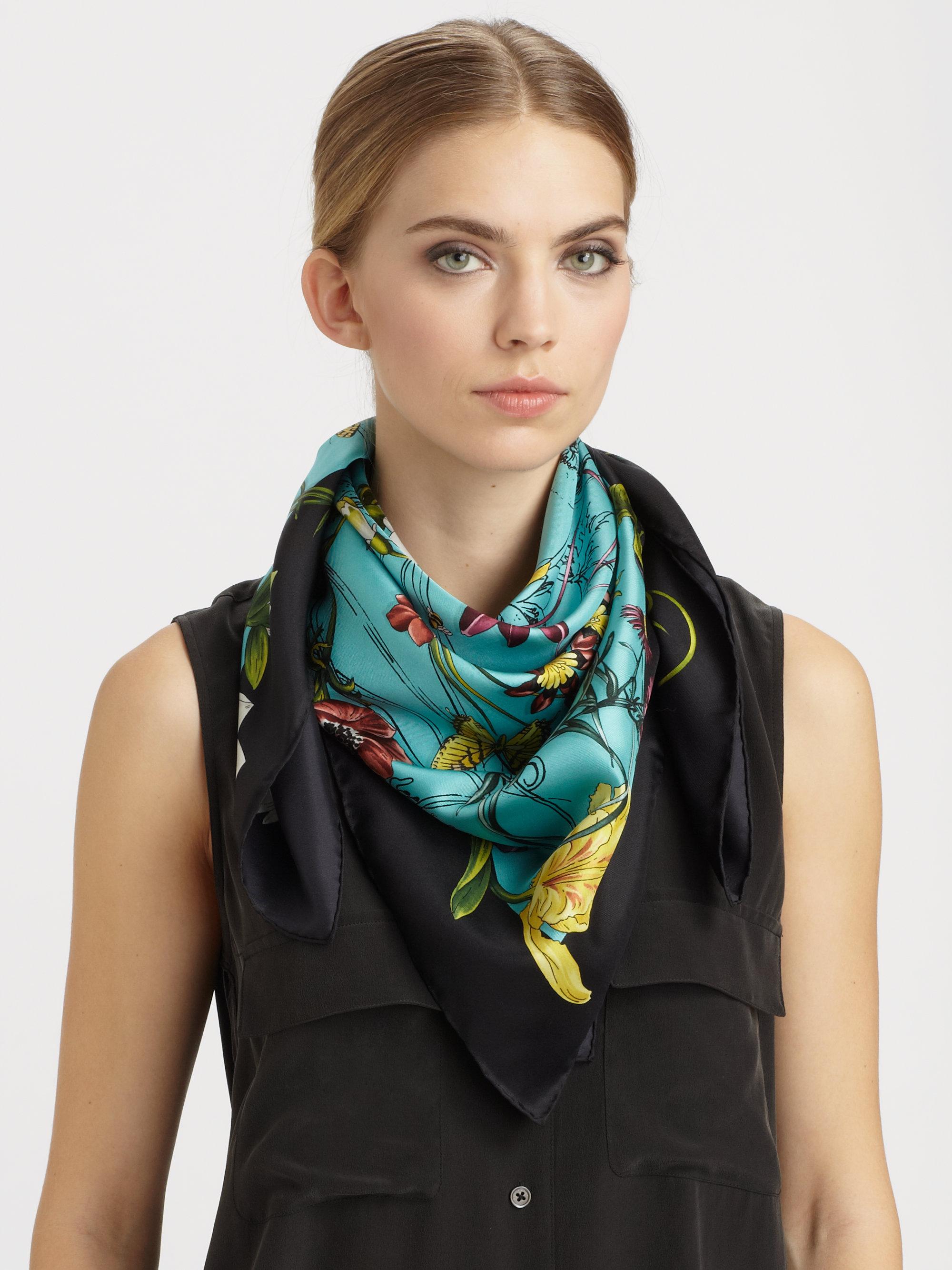 Salvatore Ferragamo Foulard Leopard Silk Scarf | Bloomingdale's ...