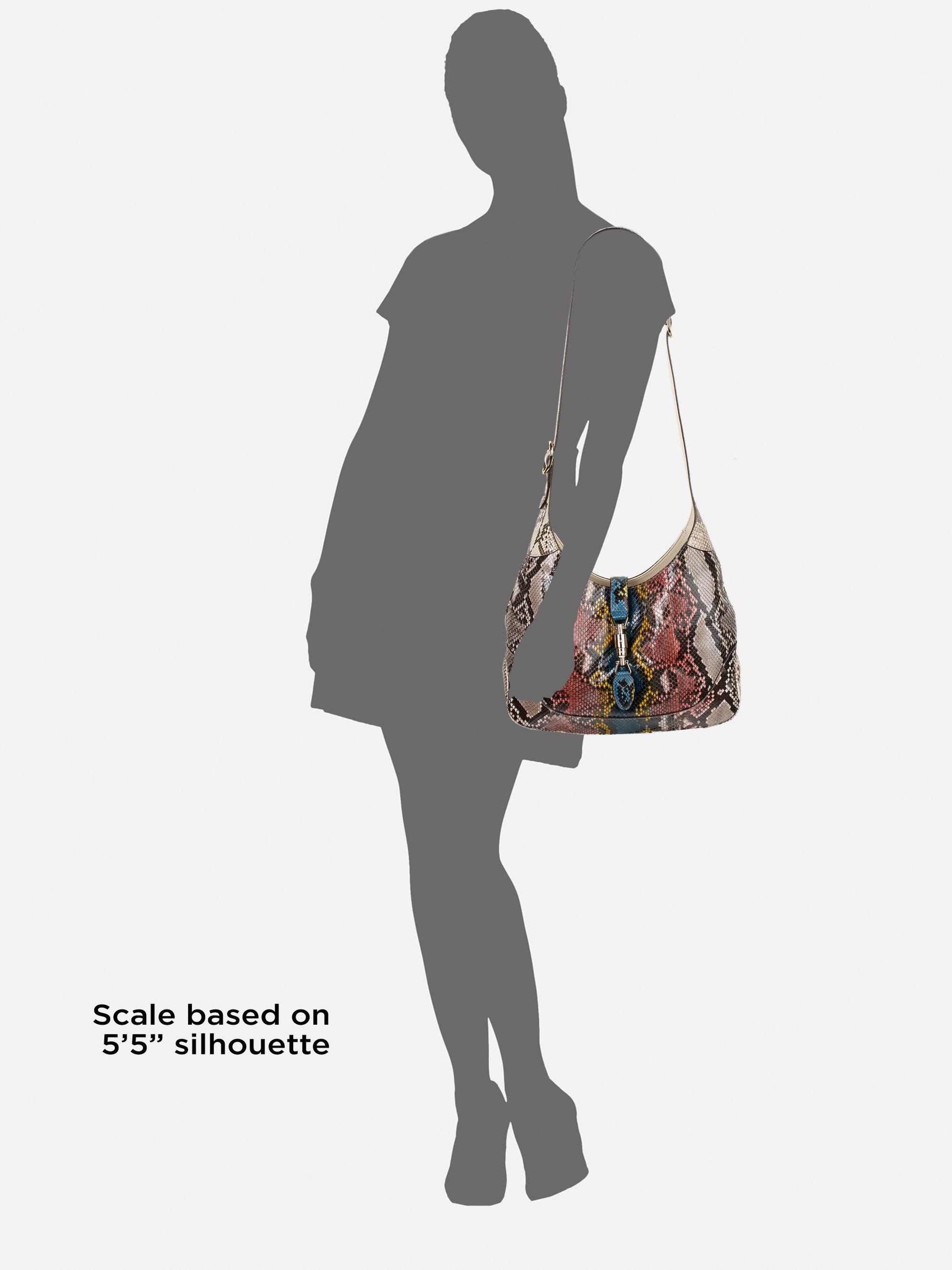 6efb55f91 Gucci Jackie Python Las Vegas Bag - Lyst