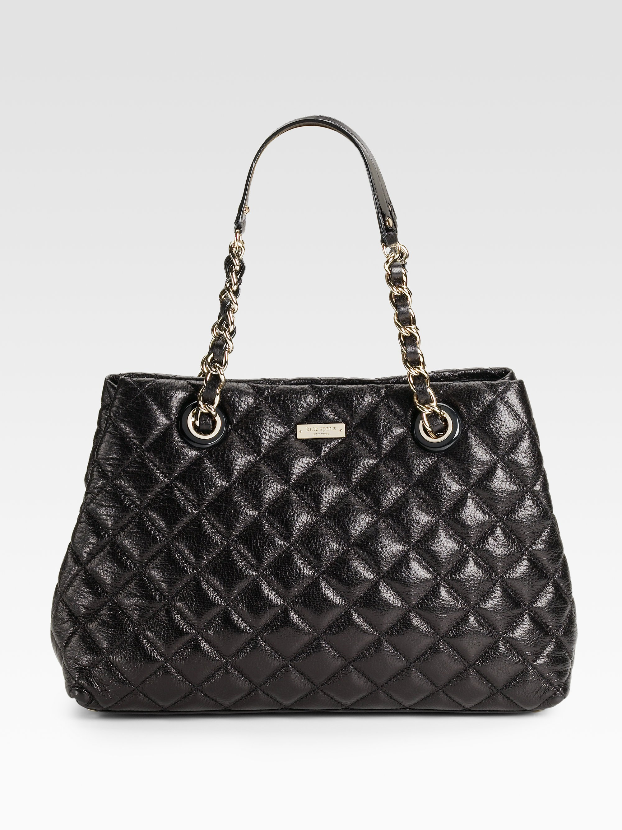 Lyst Kate Spade Mary Anne Quilted Leather Shoulder Bag