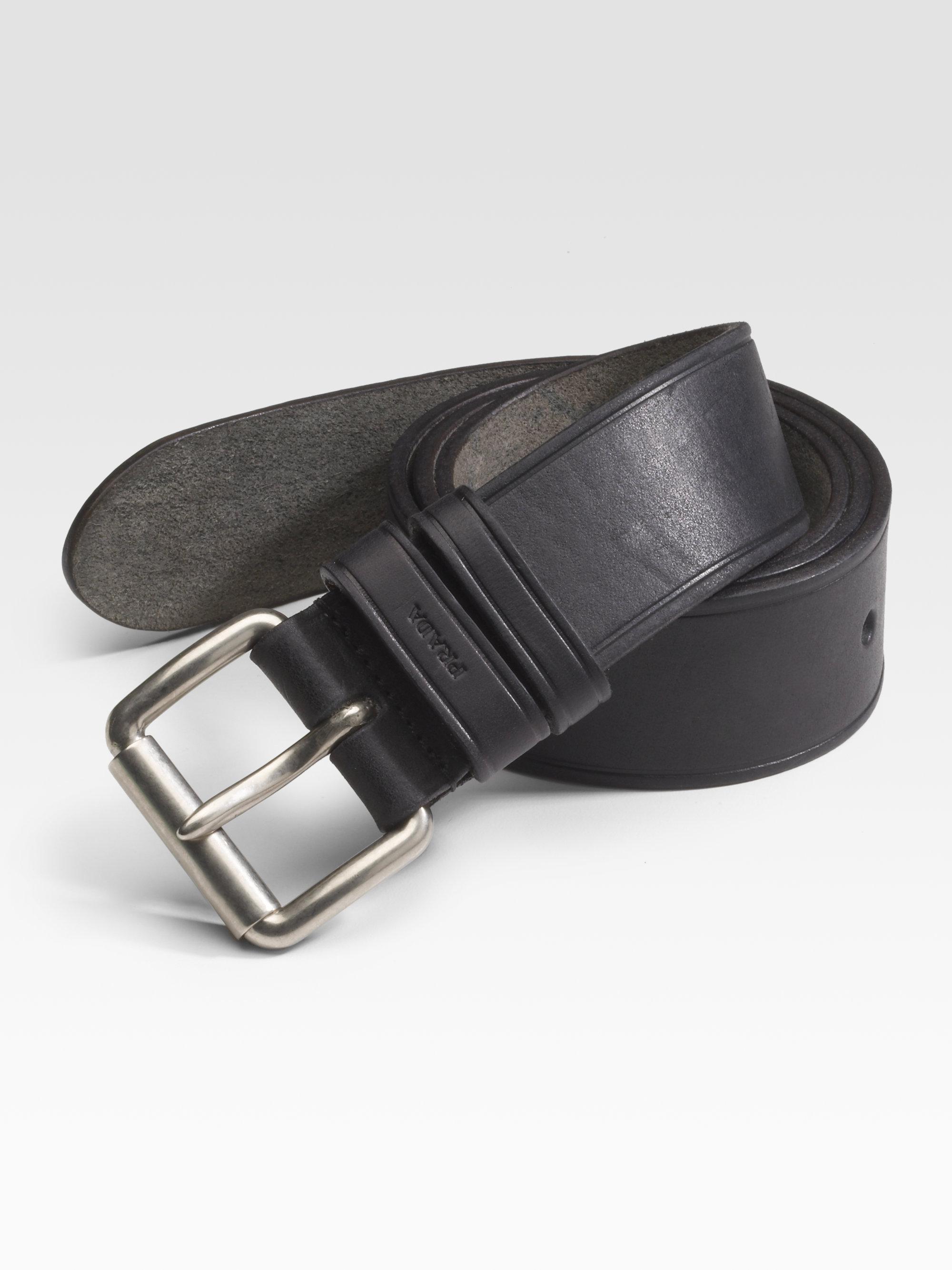 black prada bag with gold hardware - prada men's black belt