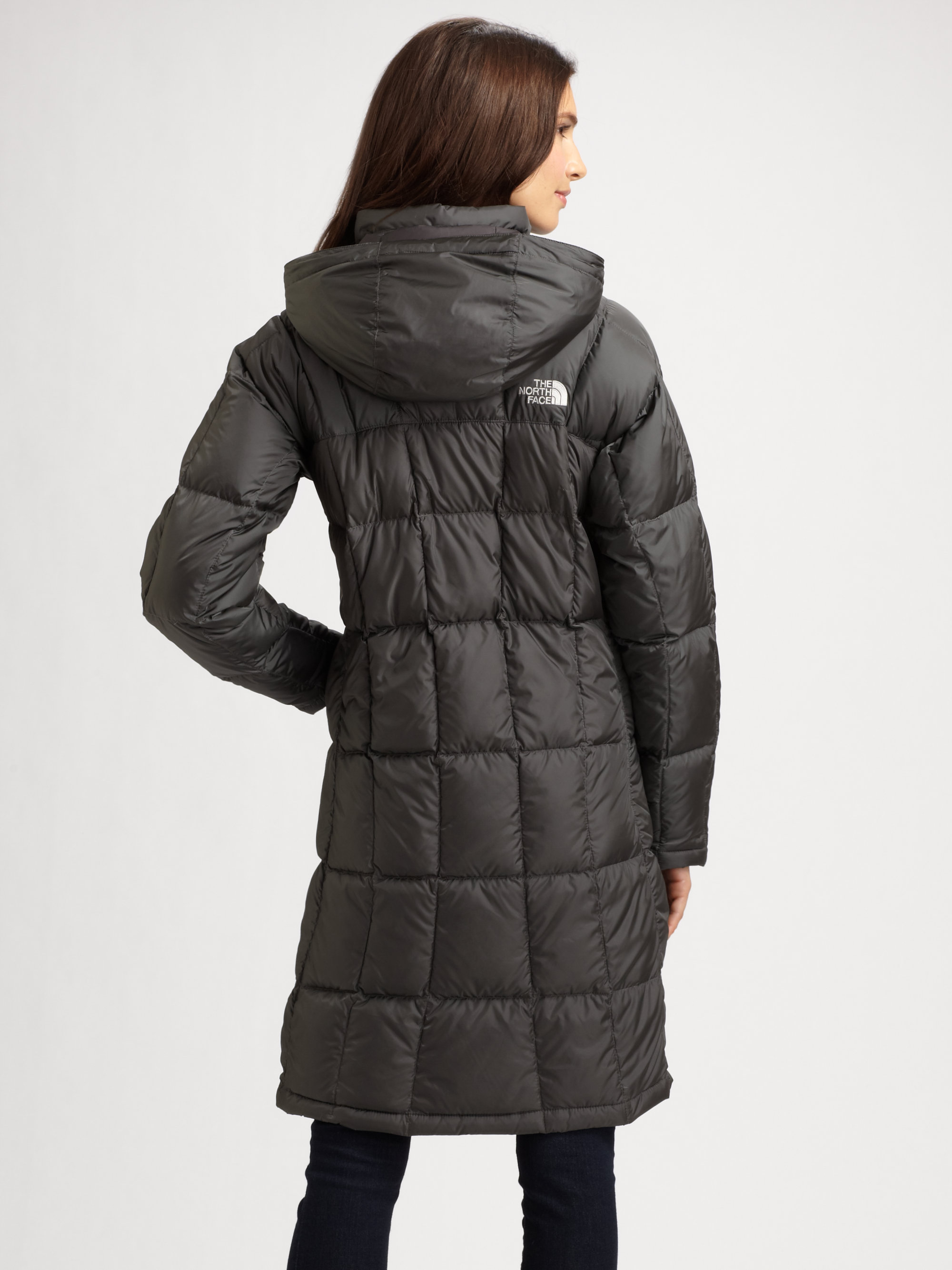 The North Face Metropolis Down Parka In Gray Lyst