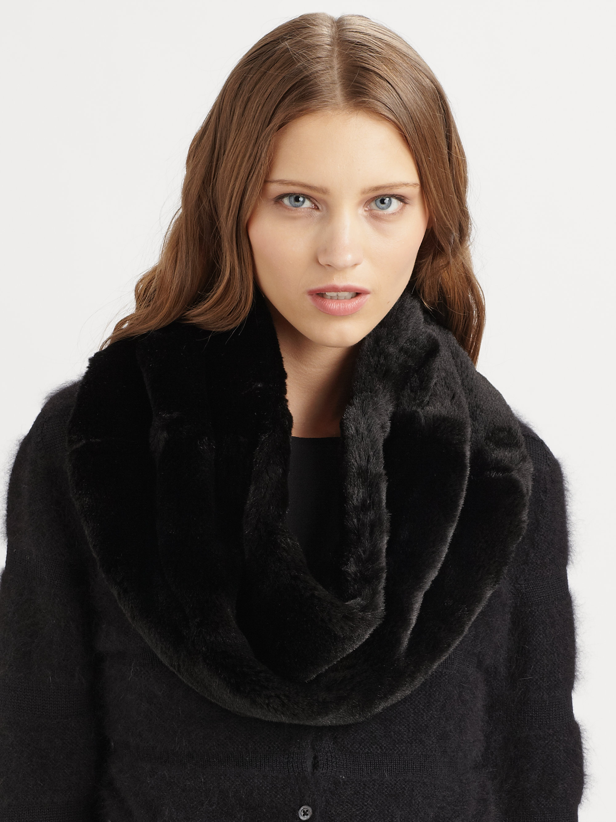 product infinity fur scarf furry china faux winter hjdesrclrghn