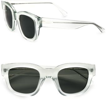 Acne Square Plastic Sunglasses - Lyst