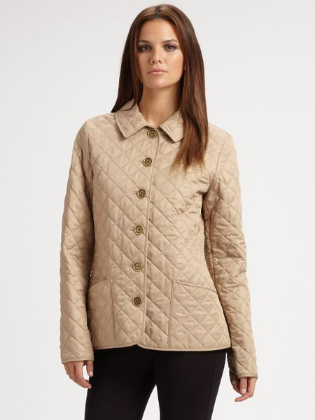Burberry Brit Copford Jacket In Beige Chino Lyst