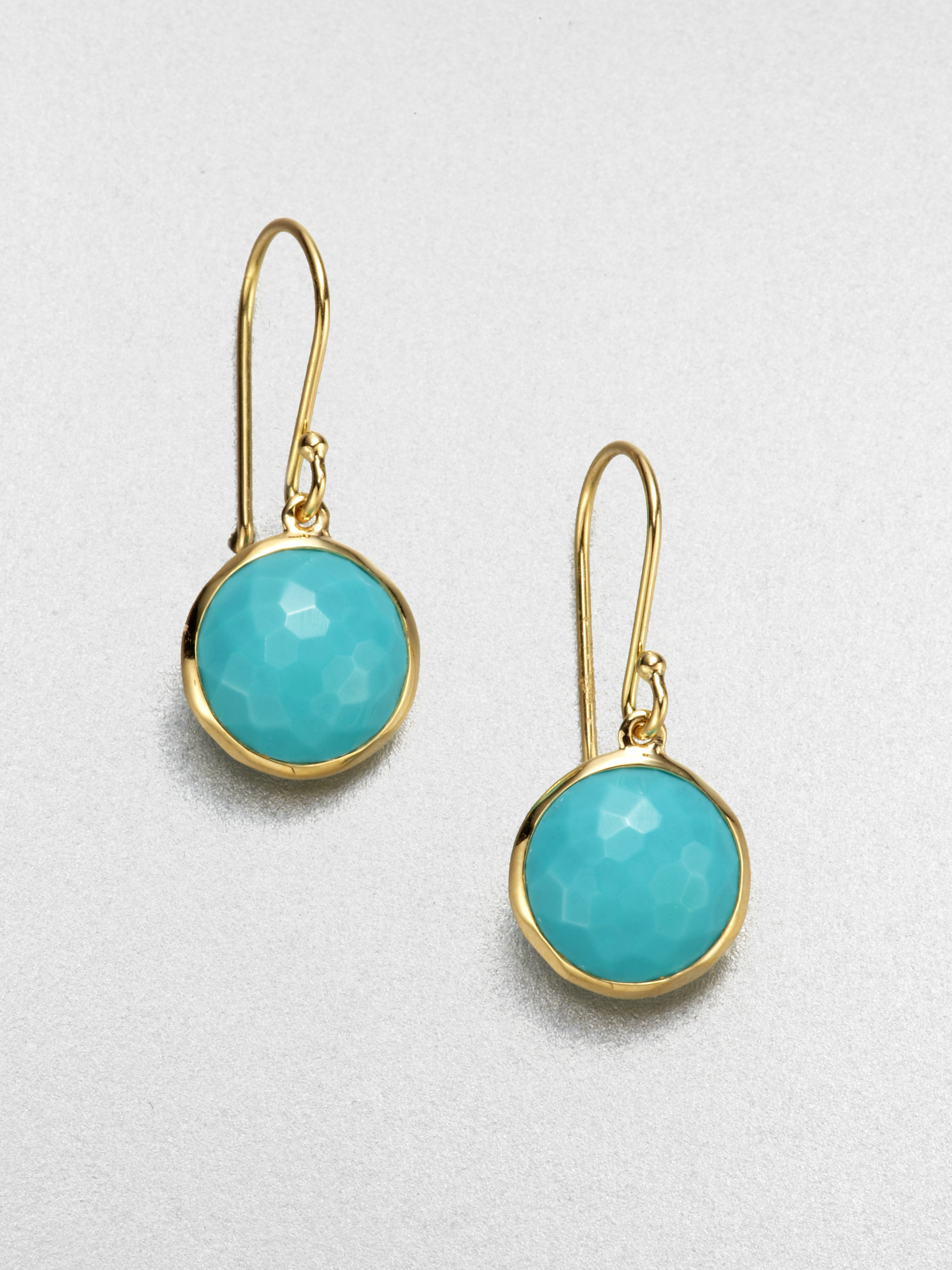 Gold And Turquoise Fashion Jewelry
