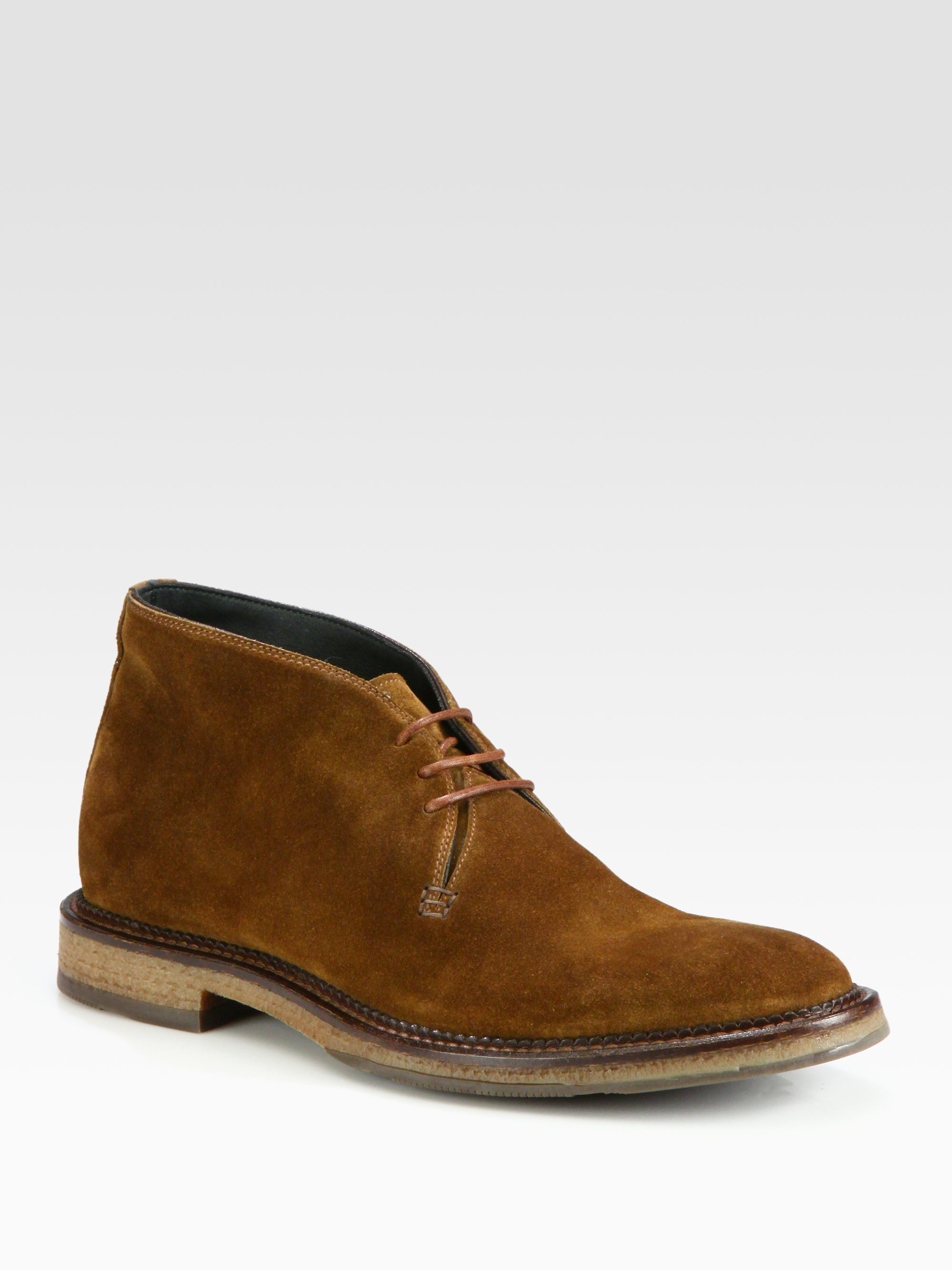 To Boot Clarkston Crepe Sole Chukka Boot In Brown For Men