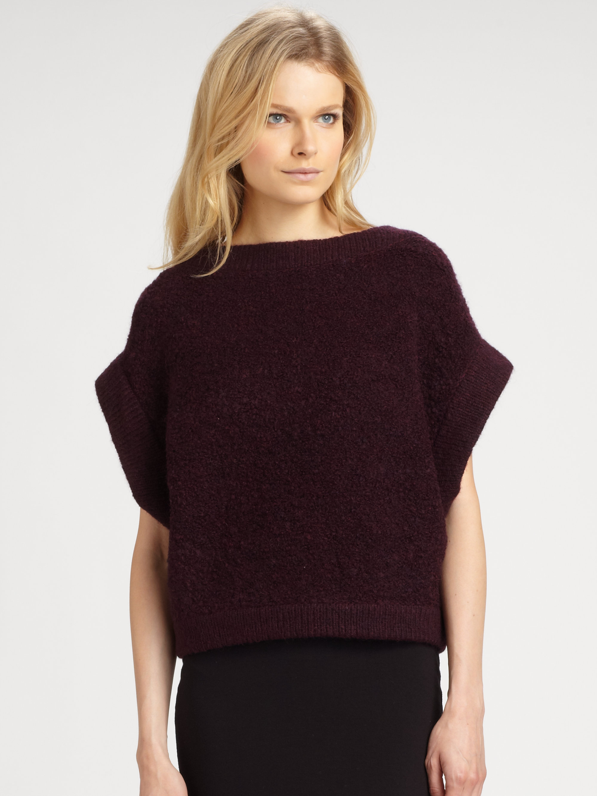 Vince Bordeaux Sweater 102