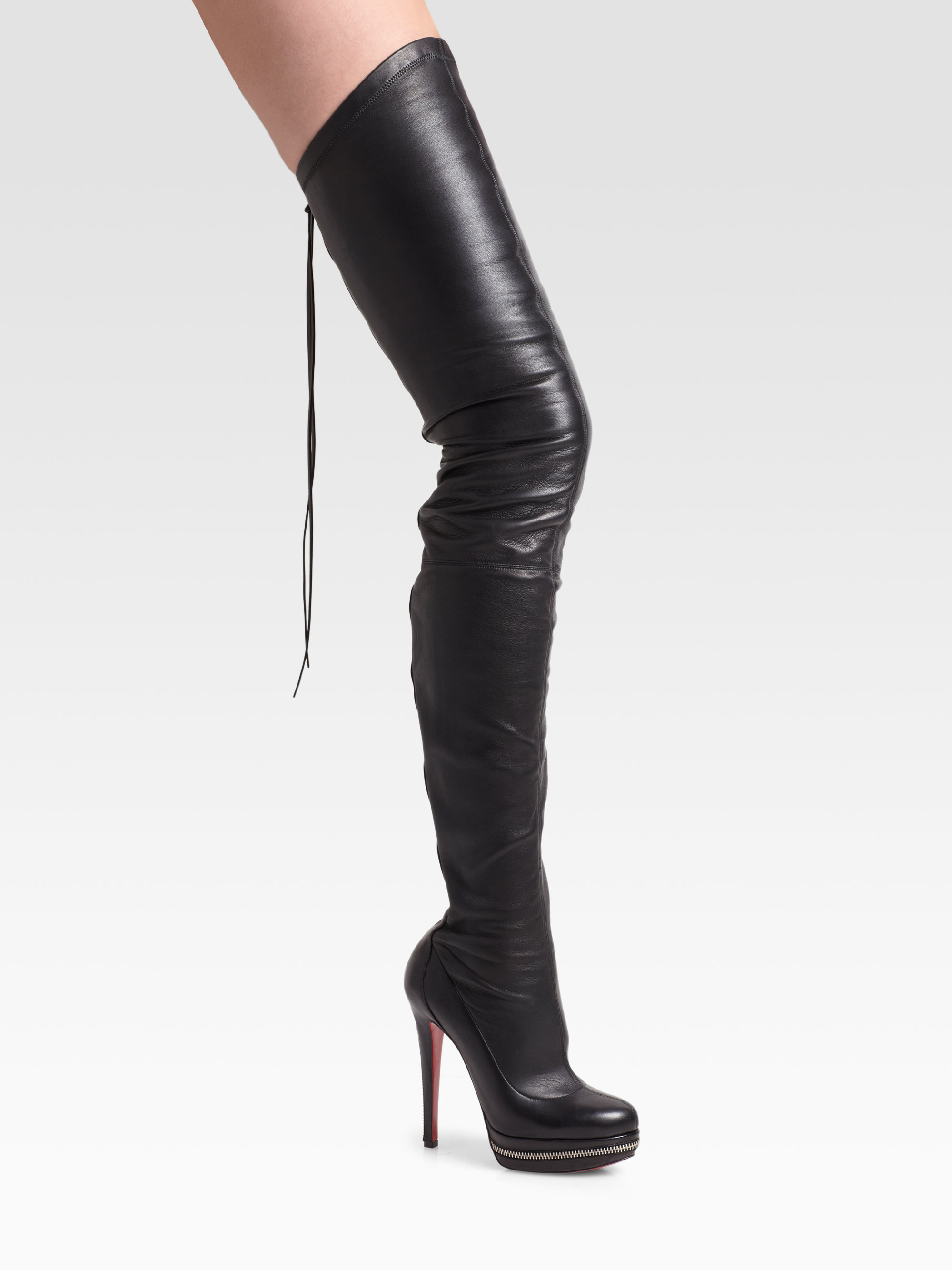 5299ad5a7bc5 Gallery. Previously sold at  Saks Fifth Avenue · Women s Thigh High Boots