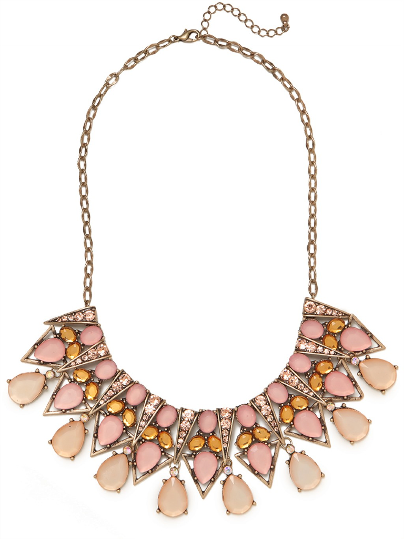 BaubleBar Pastel Ziegfeld Necklace in Metallic - Lyst