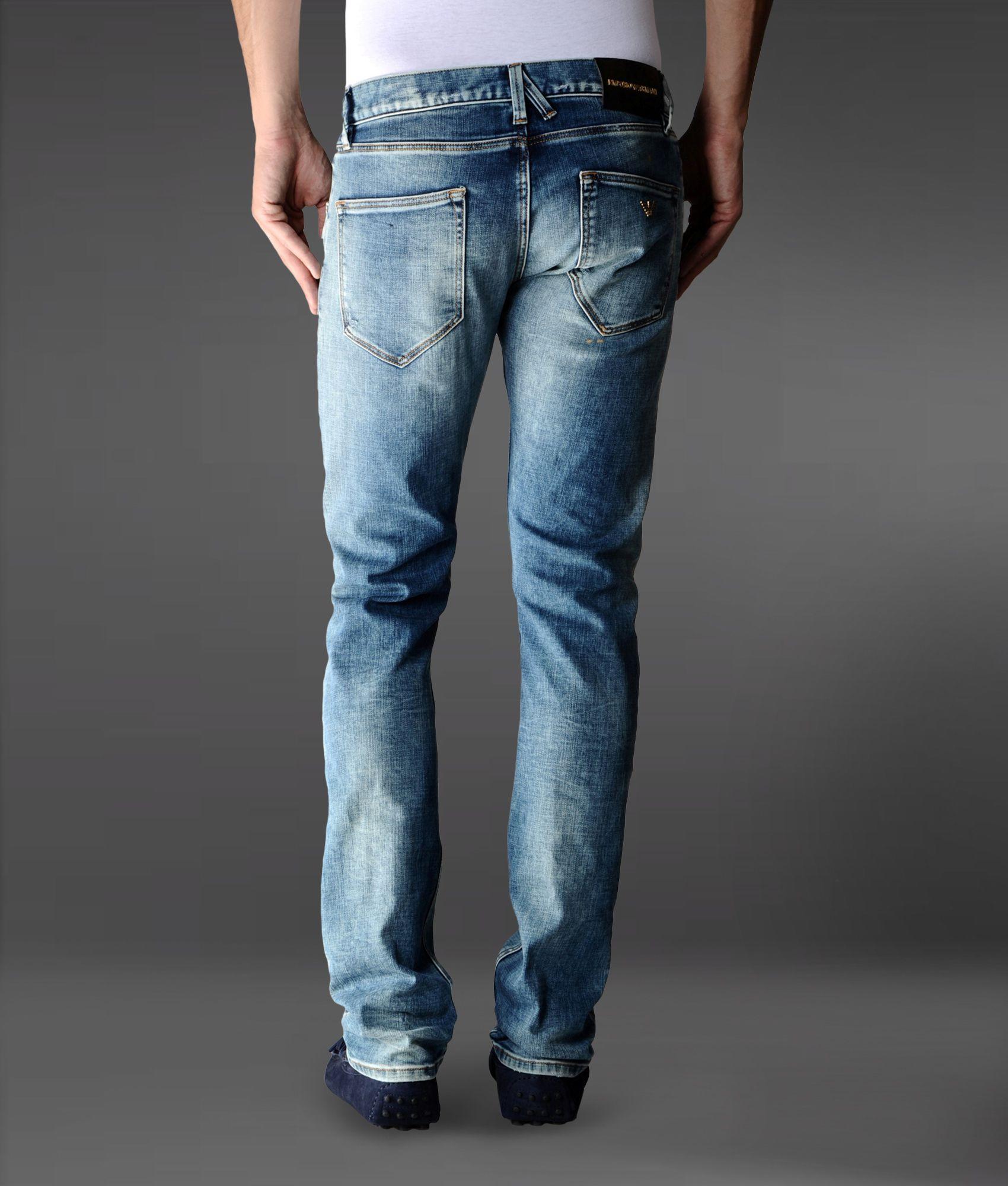 skinny fit jeans - Blue Emporio Armani Limited Outlet Online Shop Wholesale Price Sale Best Sale iiYdt
