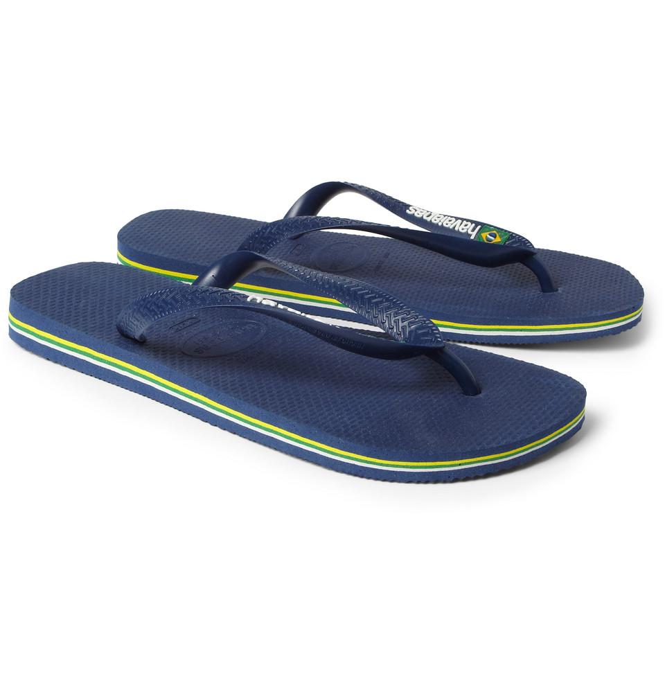 d37c3b2ee61c87 Havaianas Rubber Flip Flops in Blue for Men | Lyst
