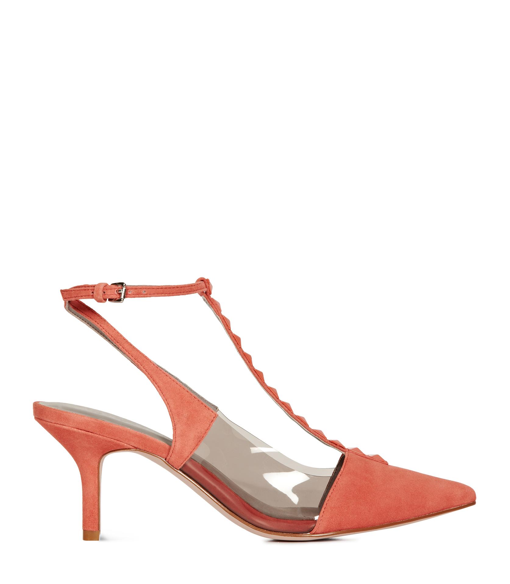 Womens J. Renee Braidy Kitten Heel Pump, Size 7.5 AA - Red