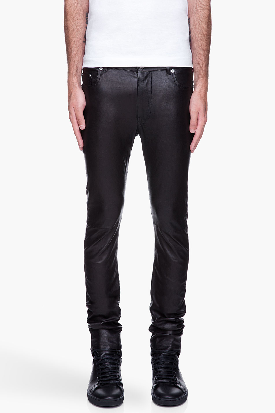 Find skinny leather pants for men at ShopStyle. Shop the latest collection of skinny leather pants for men from the most popular stores - all in one.