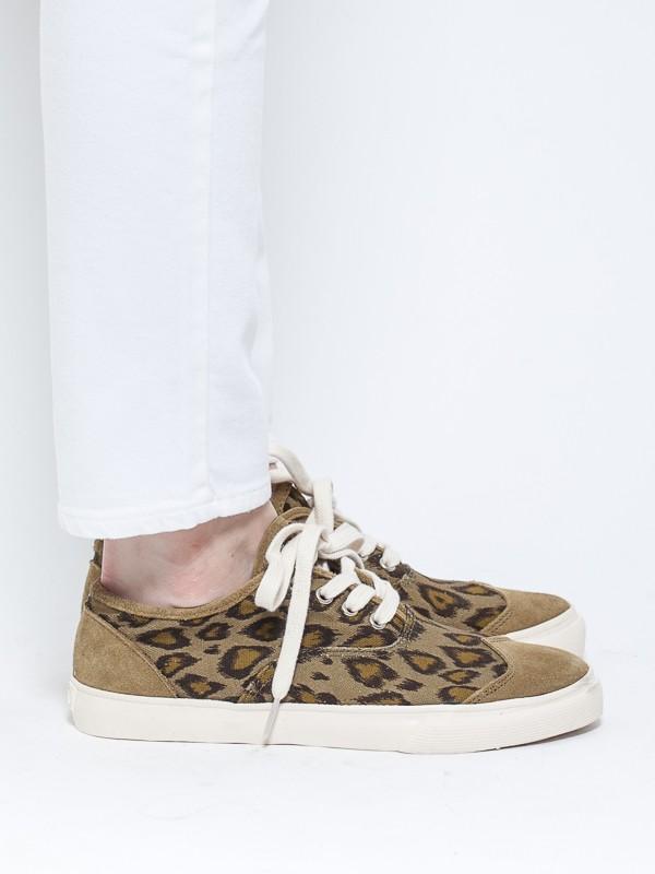 Ymc Leopard Lace Up Green in Khaki (leopard)   Lyst