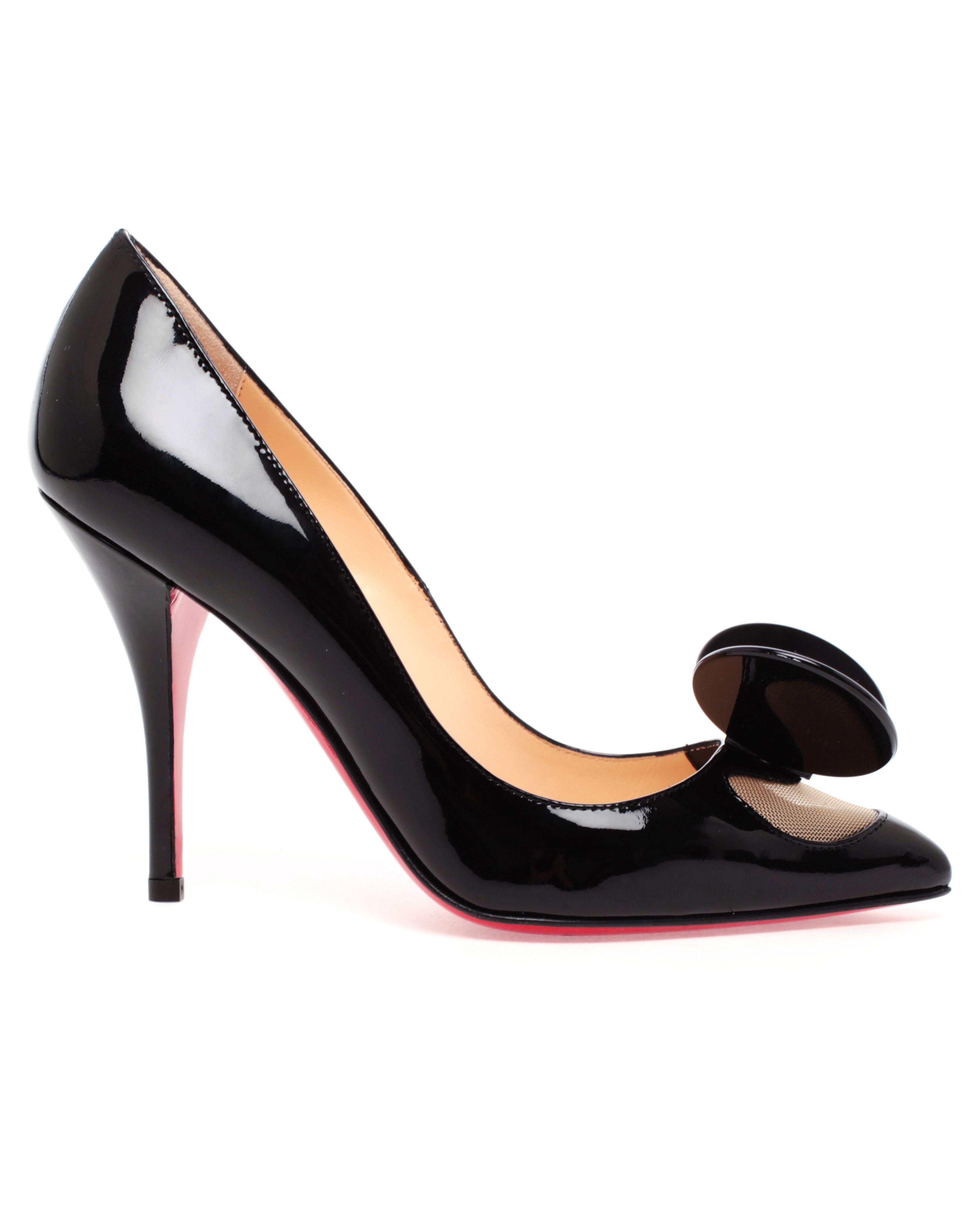 new styles d56e8 10059 Artesur » christian louboutin Madame mouse Black Patent leather