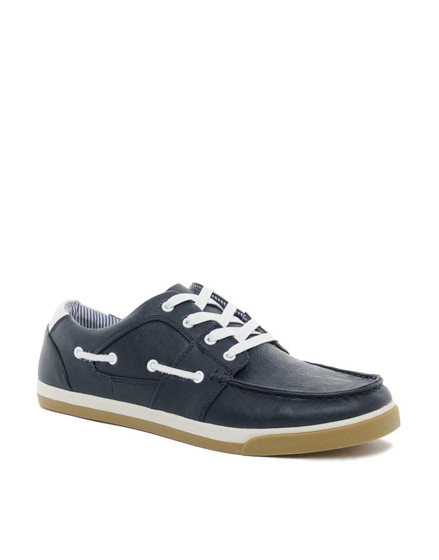 Aldo Black Boat Shoes