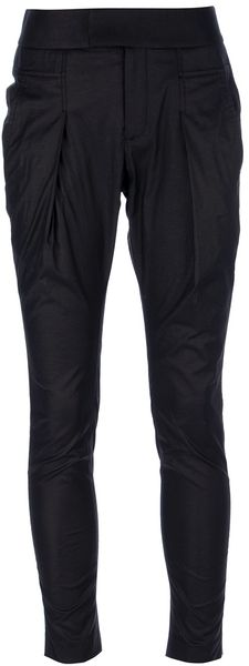 Helmut Lang Tapered Trouser - Lyst