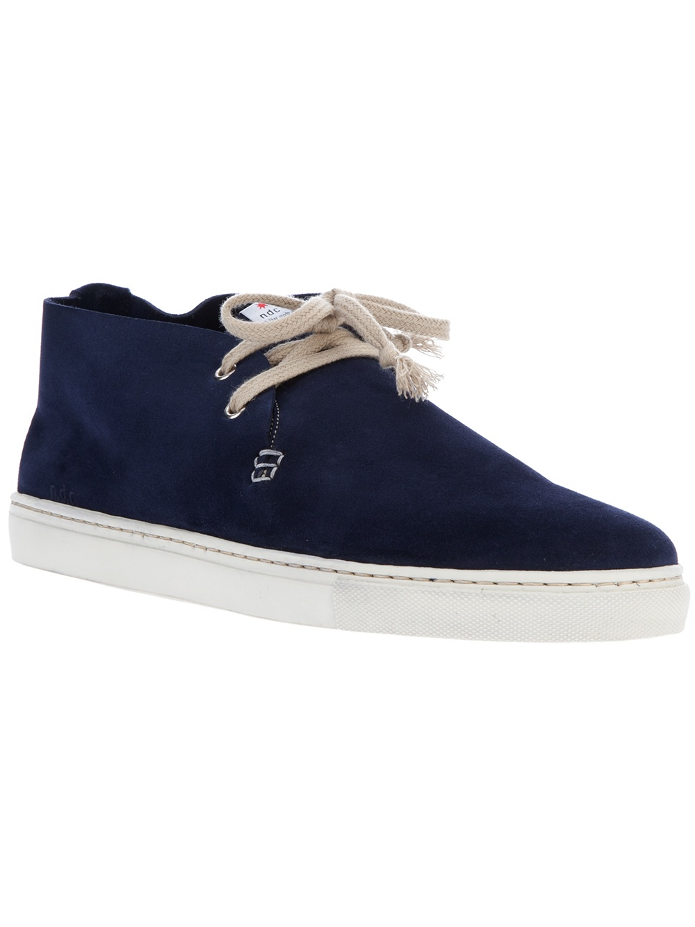 Ndc Laceup Shoe in Blue for Men