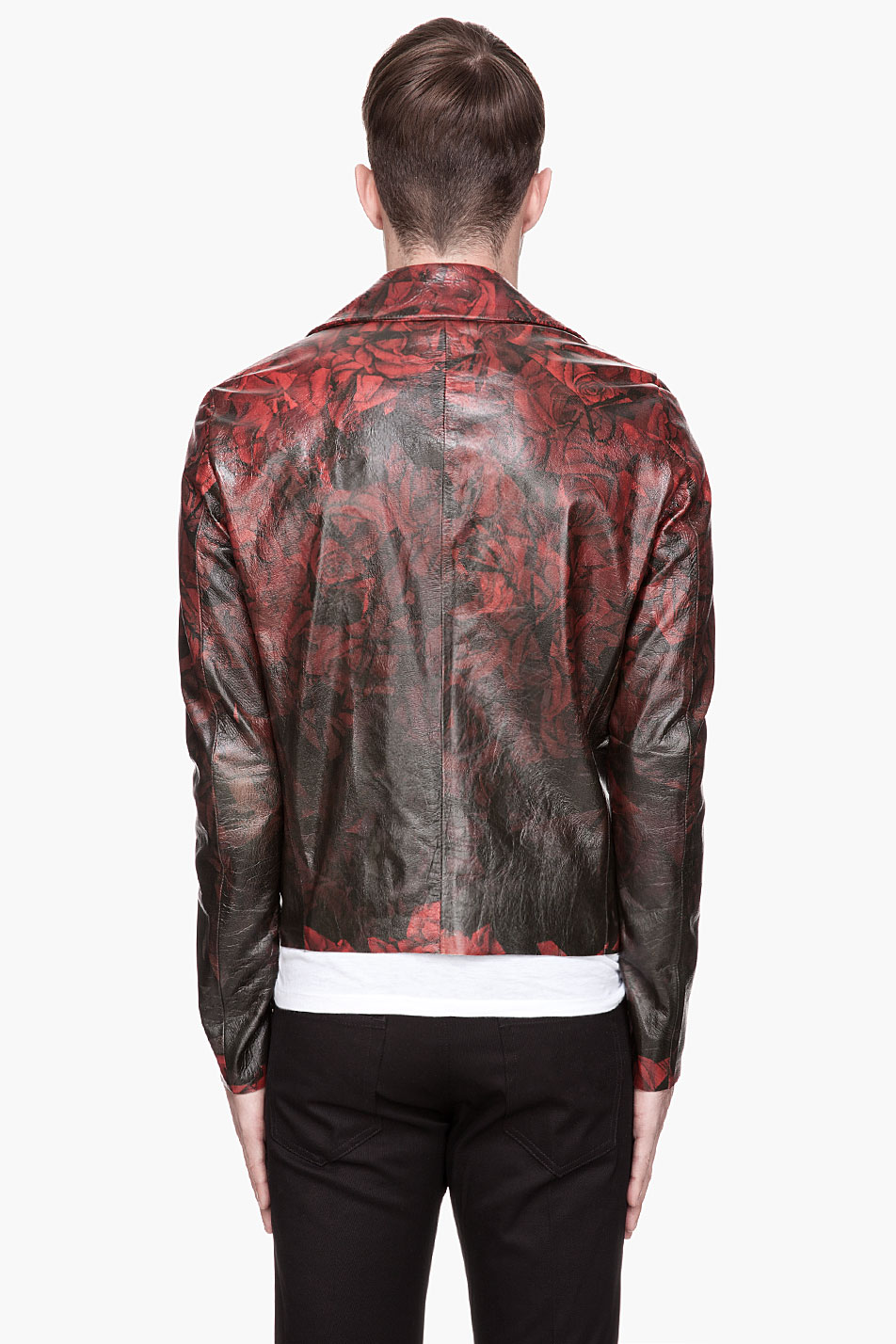 Leather jacket with roses - Gallery