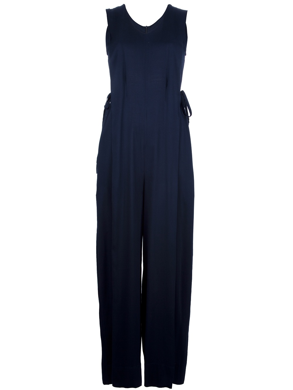 Innovative WOMENS CLOTHING ALL IN ONE SEXY CHIFFON NAVY BLUE JUMPSUIT WITH HALTER