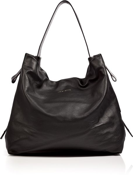 See By Chloé Leather Hobo Bag in Black in Black - Lyst