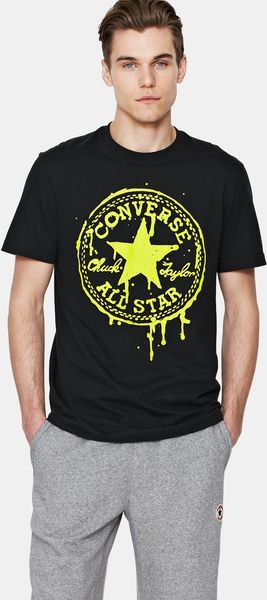 Converse Drippy Chuck Patch Mens Tshirt - Lyst