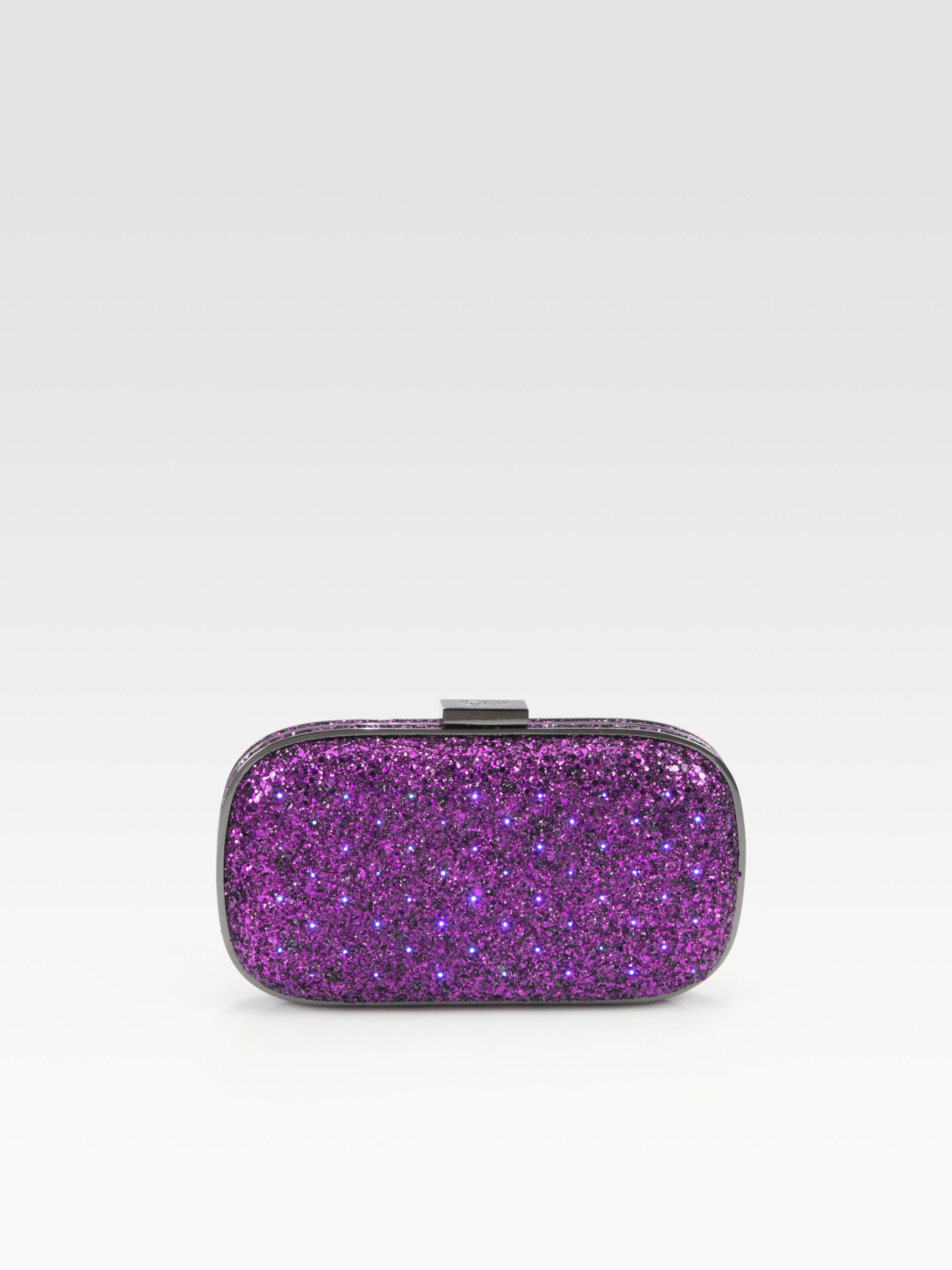 Marshmellow clutch bag - Pink & Purple Anya Hindmarch KBNDN