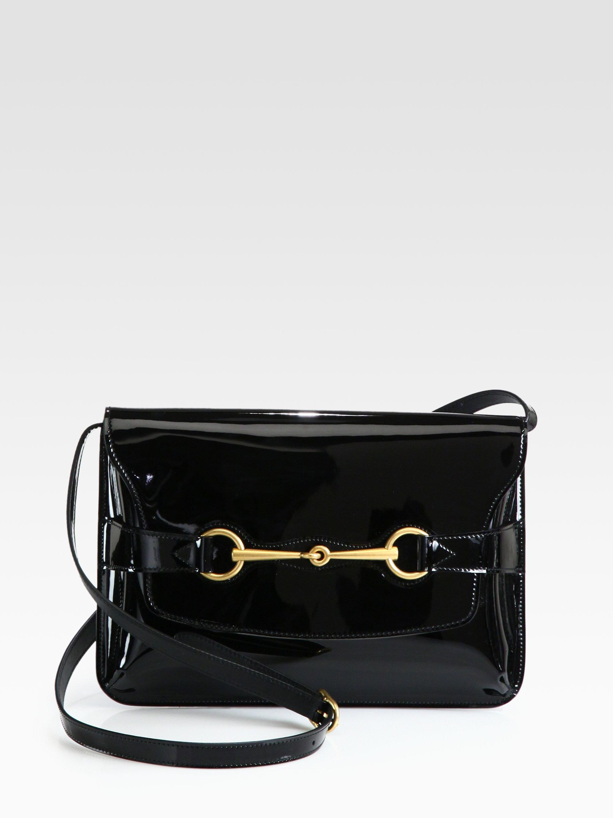 Patent leather shoulder bag B8COGrusk