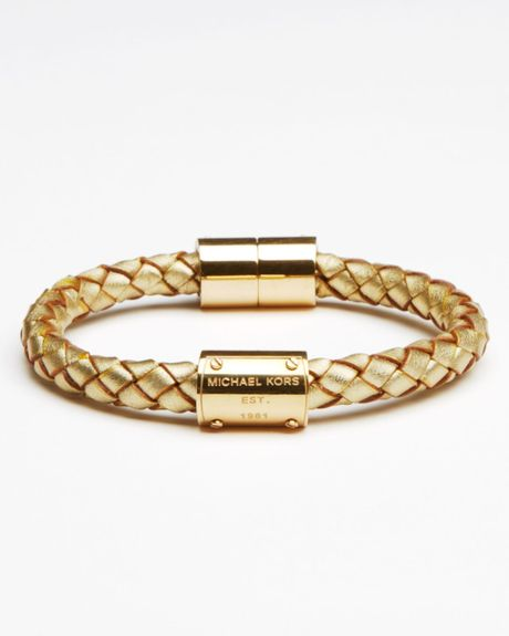 Michael Kors Skorpios Bracelet in Gold