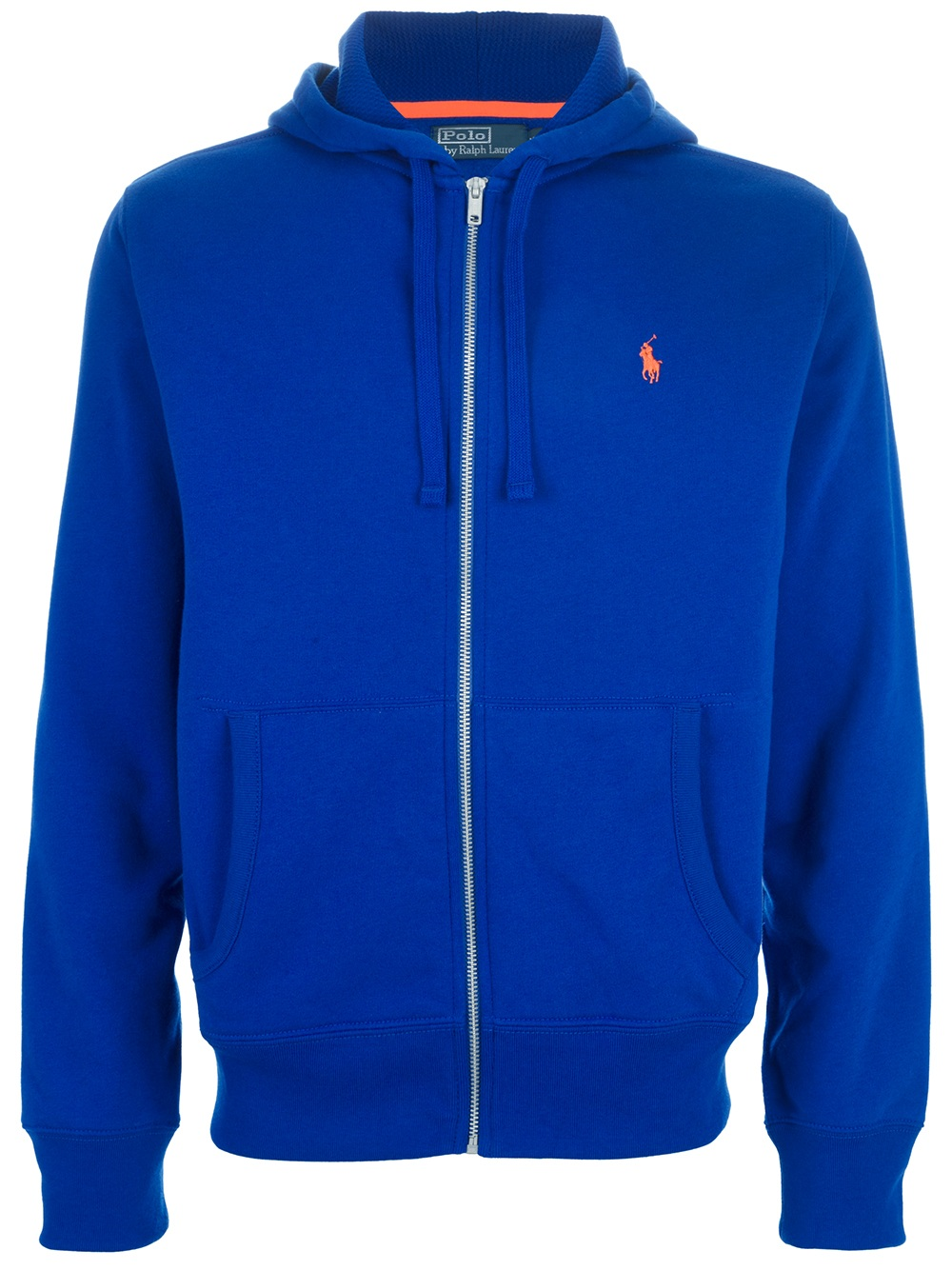 lyst polo ralph lauren zip fastening hoodie in blue for men. Black Bedroom Furniture Sets. Home Design Ideas